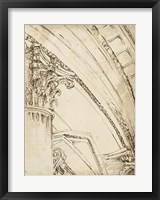 Architects Sketchbook III Framed Print