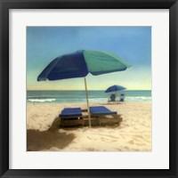 Framed Coastal Blues