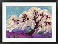 Framed White Willow