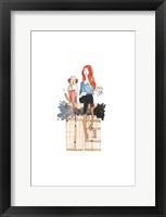 London or Bust Illo Framed Print