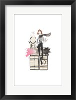 Paris or Bust Illo Framed Print