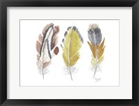 Earthy Flight 1 Framed Print