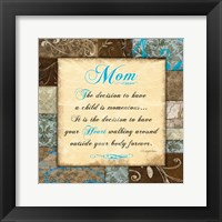 Mother's Day 1 Framed Print