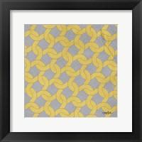 Lattice 2 Framed Print