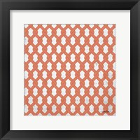 Lattice 3 Framed Print
