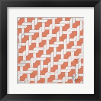 Lattice 4 Framed Print