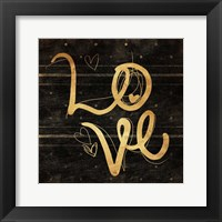 Framed Love Gold