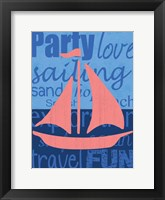 Beach Sail Framed Print