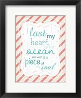 Ocean Soul Framed Print