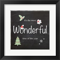 Wonderful Time Framed Print