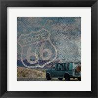 Route 66 Van Framed Print