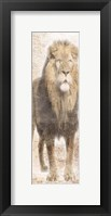 African Traveling  Animals Three Framed Print