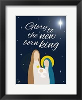 Nativity King Framed Print
