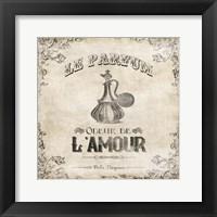 Le Parfum Framed Print