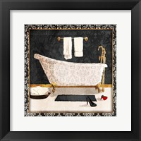Traditional Bath Framed Print