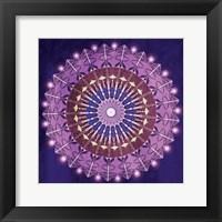 Circular BoHo Framed Print