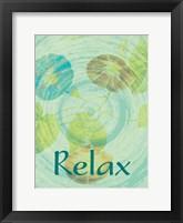 Framed Relax Flora