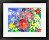 Framed Fresh Flowers