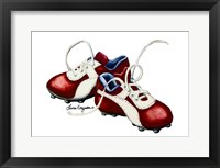 Cleats Framed Print