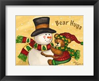 Bear Hugs Framed Print