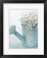 Framed Vintage Blue Pot