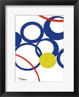 Rings Popped 2 Framed Print