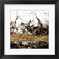 Ink Gold Metalico 1 Framed Print