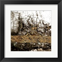 Ink Gold Metalico 2 Framed Print