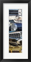 Grunge Cars 2 Framed Print