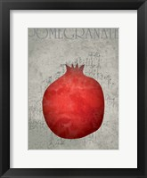 Fruit Watercolor I Framed Print