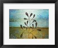 Contemporary Florals 1 Framed Print