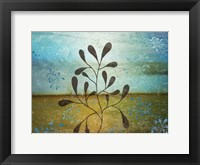 Contemporary Florals 2 Framed Print