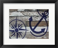 Framed Coastal Nautical 01