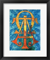 Alpha Confirmation 1 Framed Print