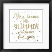 Glimmer Pair 02 Framed Print