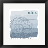 Tranquil Squares 01 Framed Print