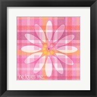 Spring Romance Pairs 04 Framed Print