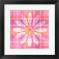 Spring Romance Pairs 04 Framed Print