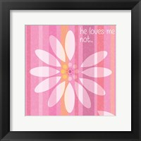 Spring Romance Pairs 05 Framed Print