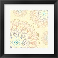 Spring Romance Pairs 01 Framed Print