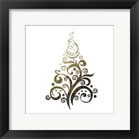 Glimmer Trees 1 Framed Print