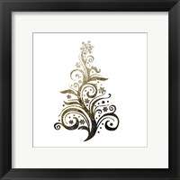 Glimmer Trees 2 Framed Print