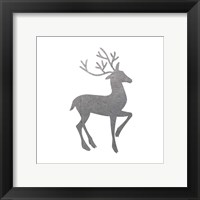 Silver Deer 1 Framed Print