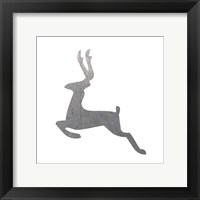 Framed Silver Deer 3