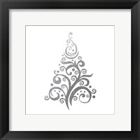 Silver Trees 1 Framed Print