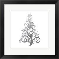 Silver Trees 2 Framed Print