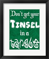 Framed Tinsel Tangle