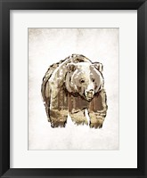 Butch in Woods Framed Print