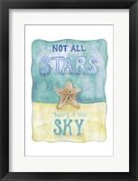 Framed Stars and Sky