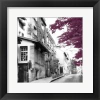 Eggplant Montmartre Framed Print